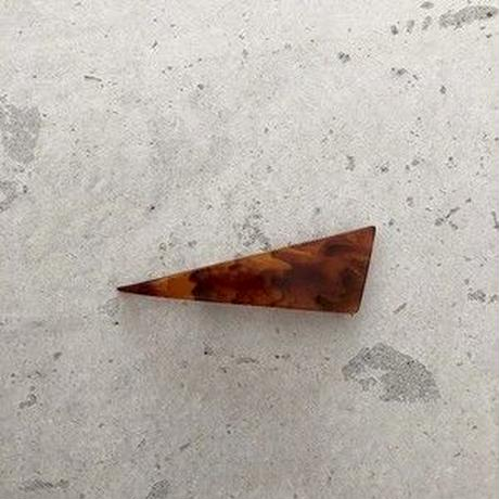 triangle barrette  small