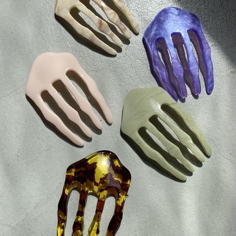 acrylic comb - mountain - [11月上旬~11月中旬のお届け] アクリルコーム- マウンテン -