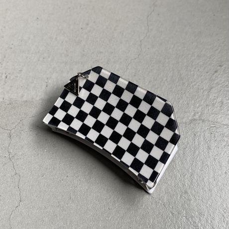 🏁Checker flag  Hair clip    [11月上旬~11月中旬のお届け] チェッカーフラッグヘアクリップ