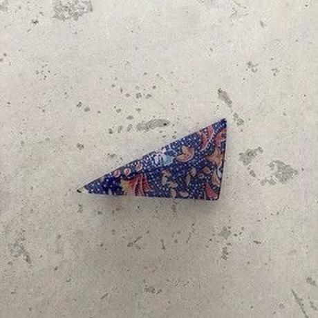 triangle barrette  flower series