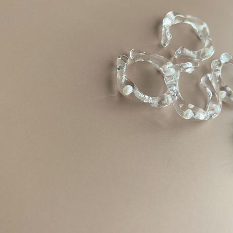 [sanrmk] Pearl Ear Cuff 14