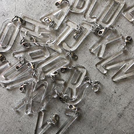 Alphabet Key charm