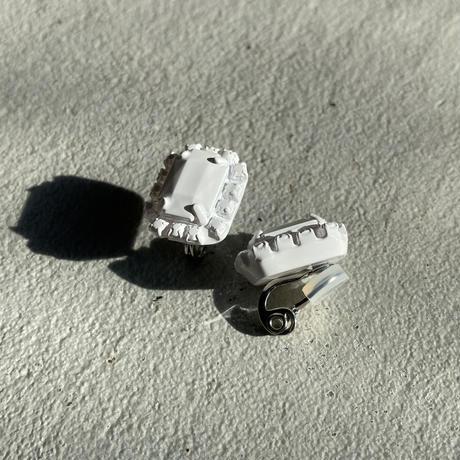 Bijou earring (earclip)    sanrmk by sAn