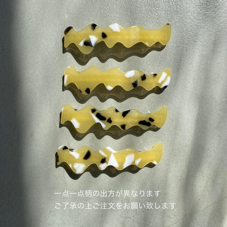 flow barrette [11月上旬~11月中旬のお届け] フロウバレッタ