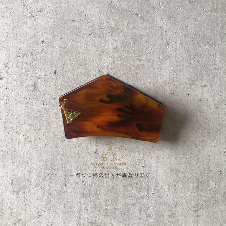 hexagon  hair clip  small(ヘキサゴンヘアクリップS)
