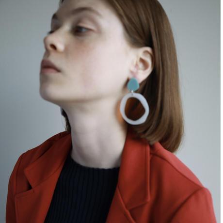 toh       earring   (earclip)(トー-イヤリング)