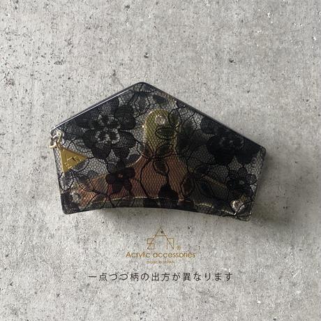 hexagon  hair clip(ヘキサゴンヘアクリップ)