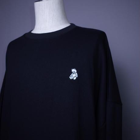 ダークベアーバザール 限定生産アイテム【AFYF】 🧸ついに登場プチベアくん UTILITY SWEAT 【DARK BEAR-BLACK】