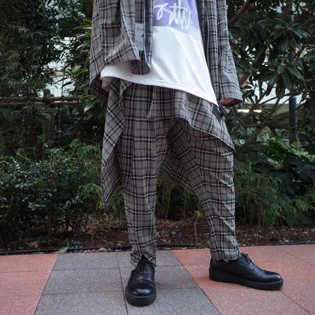 【ROVTSKI】RELAX TEPARD PANT [BEIGE/BLACK]