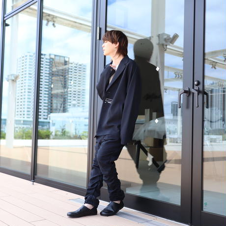 【CLASSIC ROV】TROPICAL (清涼スーツ素材) TAILORED JKT [NAVY]