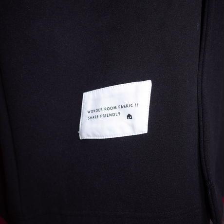 【AFYF】 MEGA BUTTON COAT[BLACK]