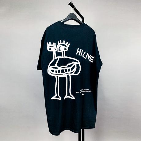 【AFYF ON GILDAN社】 SOUVENIR T SHIRT2 MONSTER MONSTER [BLACK]
