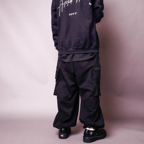 【AFYF】BASIC WIDE CRAGO PT [PONTI BLACK]