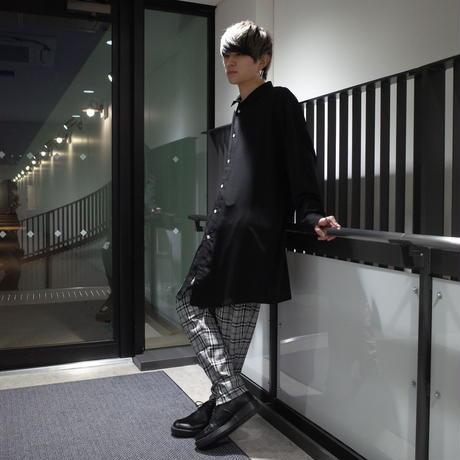 【ROVTSKI】RELAX TEPARD PANT [GRAY/BLACK]
