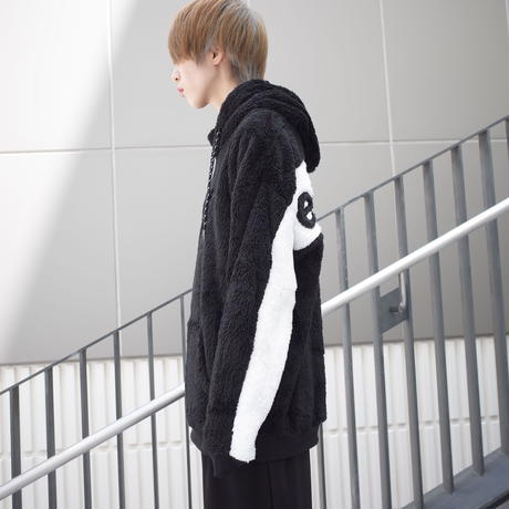 【AFYF】BOA FLEECE PARKA[BLACK]/8C19062404