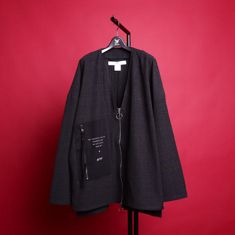 【AFYF】[MICHELL DE MARTINI シグネーチャー モデル] コンビアイテム   V ZIP SHIRT×袴PANT