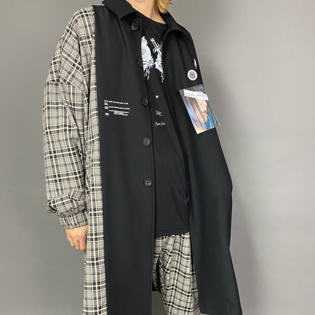 AFYF ICON CHECK SOUTIEN COAT FULL COORDINATE SET 【TYPE-HEART 】