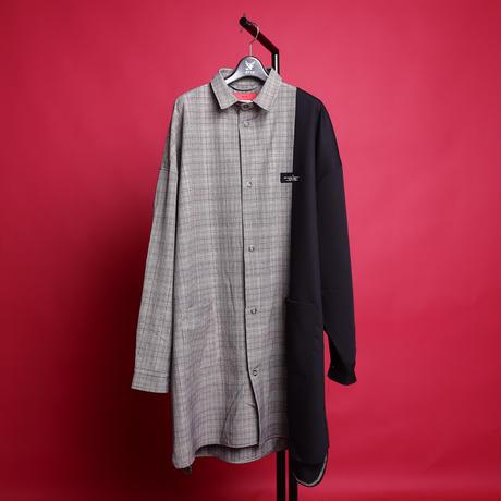 【AFYF】[JOSH RONWOOD シグネーチャー モデル] コンビアイテム      LONG SHIRT DOT RING×袴PANT