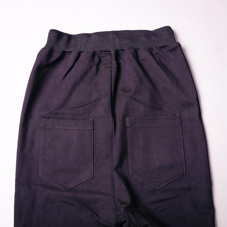 【AFYF】BASICS OVERSIZESAROUEL RIB PANT [PONT BLACK]