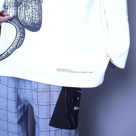 【AFYF】  ICON BIG SHIRT[BEAR-WHT]
