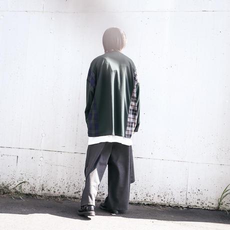 【AFYF】TRILINGUAL LONG SLEEVE TEE[DK GREEN]