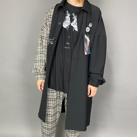 AFYF ICON CHECK SOUTIEN COAT FULL COORDINATE SET 【TYPE-ANGELROSE】