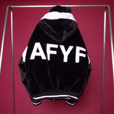 【AFYF】FUR BLOUSON[BLACK]