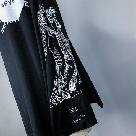 【AFYF】BASIC OVERSIZED GRAPHIC LST [ANGEL-Ⅱ-BLACK]