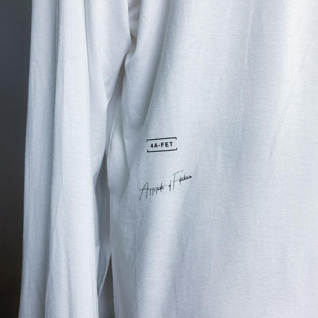 【AFYF】BASIC OVERSIZED GRAPHIC LST  [HEART-Ⅰ-WHITE]