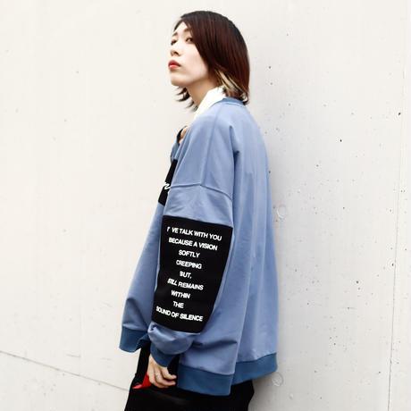 【AFYF】OVERSWEAT LS[BLUE]