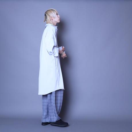 【ROVTSKI】 LONG SHIRT [SAX]