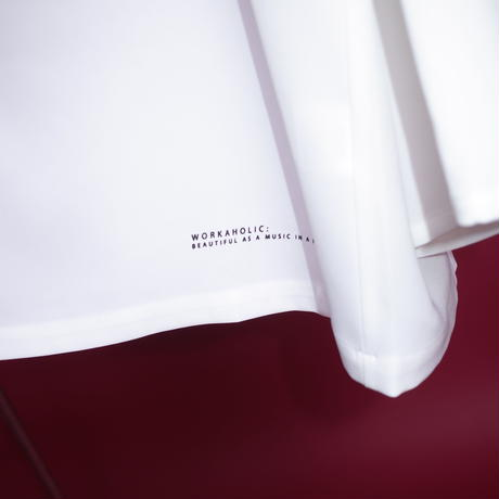 【AFYF】POLY DARK APPLE SHIRT[APPLE-WHITE]