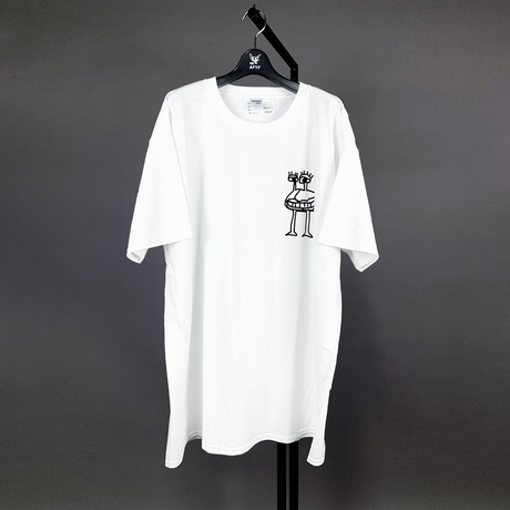 【AFYF ON GILDAN社】 SOUVENIR T SHIRT2 MONSTER MONSTER [WHITE]
