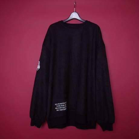 【AFYF】SWEADE PATCH CREW[BLACK]/8C20092000