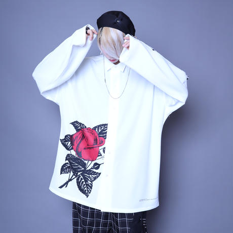 【AFYF】 ICON BIG SHIRT COMBINATION ITEM[TYPE-ROSE]