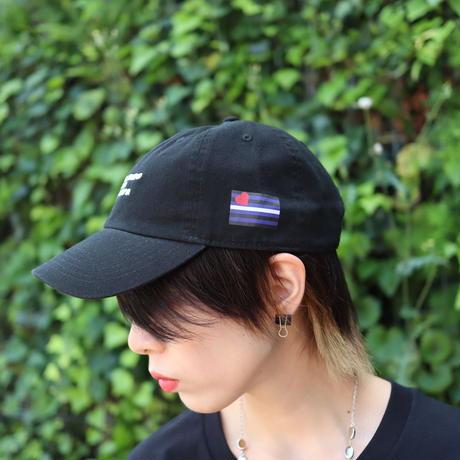 【AFYF ON NEWHATTAN社】 🌈# U LOVES FRIEND  CAP [BLACK/WHITE-BLACK] / XG20022901