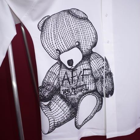 【AFYF】POLY DARK BEAR SHIRT[BEAR-WHITE]