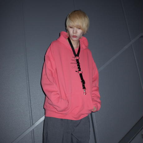 【AFYF】RAINBOW DARK BEAR JERZEES別注色 PARKA[RED]
