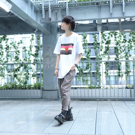 【AFYF ON GILDAN社】 🌈# U LOVES FRIEND T-SHIRTS FLAG D [WHITE]