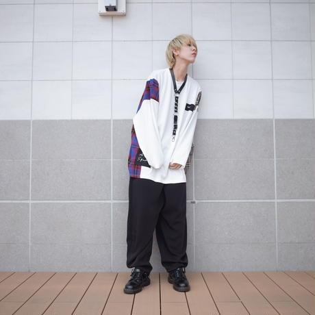 【AFYF】TRILINGUAL LONG SLEEVE TEE[OFF WHITE]/7C19062413