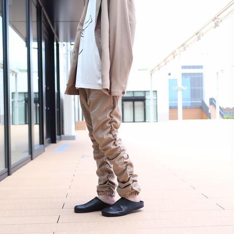 【CLASSIC ROV】 TROPICAL (清涼スーツ素材) SHIRRING PANT [BEIGE]
