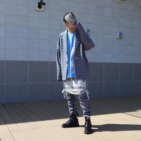 【CLASSIC ROV】TROPICAL (清涼スーツ素材) TAILORED JKT [杢BLACK CHECK]