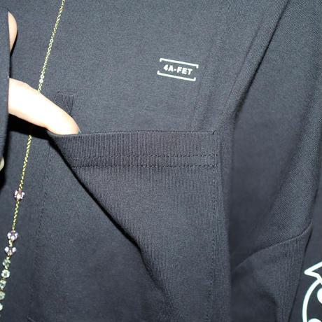 【AFYF】 OPENEND LS T SHIRT [RESTROOM WEED-BLACK]