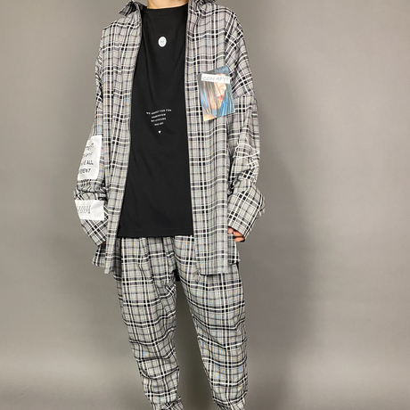 AFYF ICON CHECK FULL ZIP SHIRT FULL COORDINATE SET 【TYPE-ANGEL ROSE】