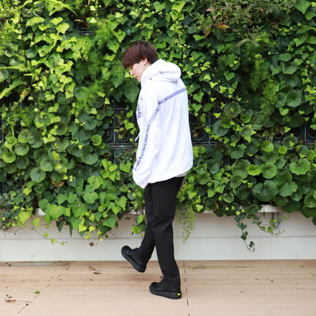 【AFYF】10 OZ SWEAT BIG PARKA [YOLO君-WHITE]/7K17050702