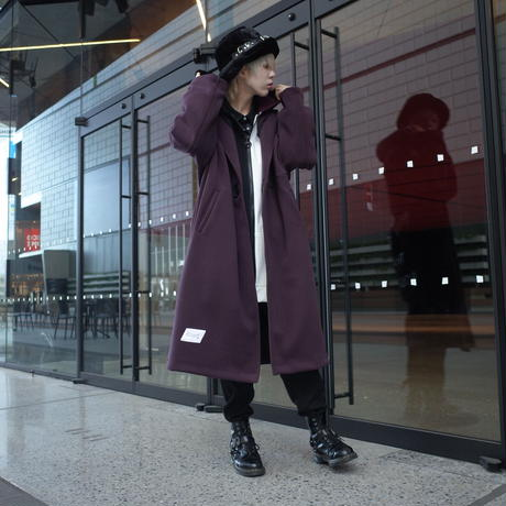 【AFYF】 MEGA BUTTON COAT[WINE]
