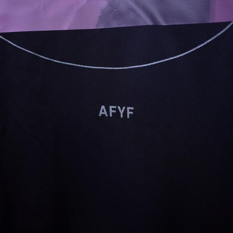 【AFYF】 MESH OVERSIZED T SHIRT [KISS MESH-BLACK]