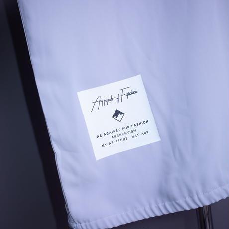 ダークベアーバザール 限定生産アイテム【AFYF】 🍎🍏DARK APPLE  1/2ZIP SHIRT【APPLE-BLUE】