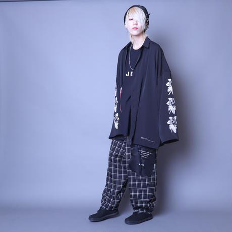 【AFYF】  ICON BIG SHIRT[ROSE-BLK]