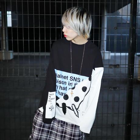【AFYF】 OPENEND LS T SHIRT [POISON DARK APPLE-BLACK]